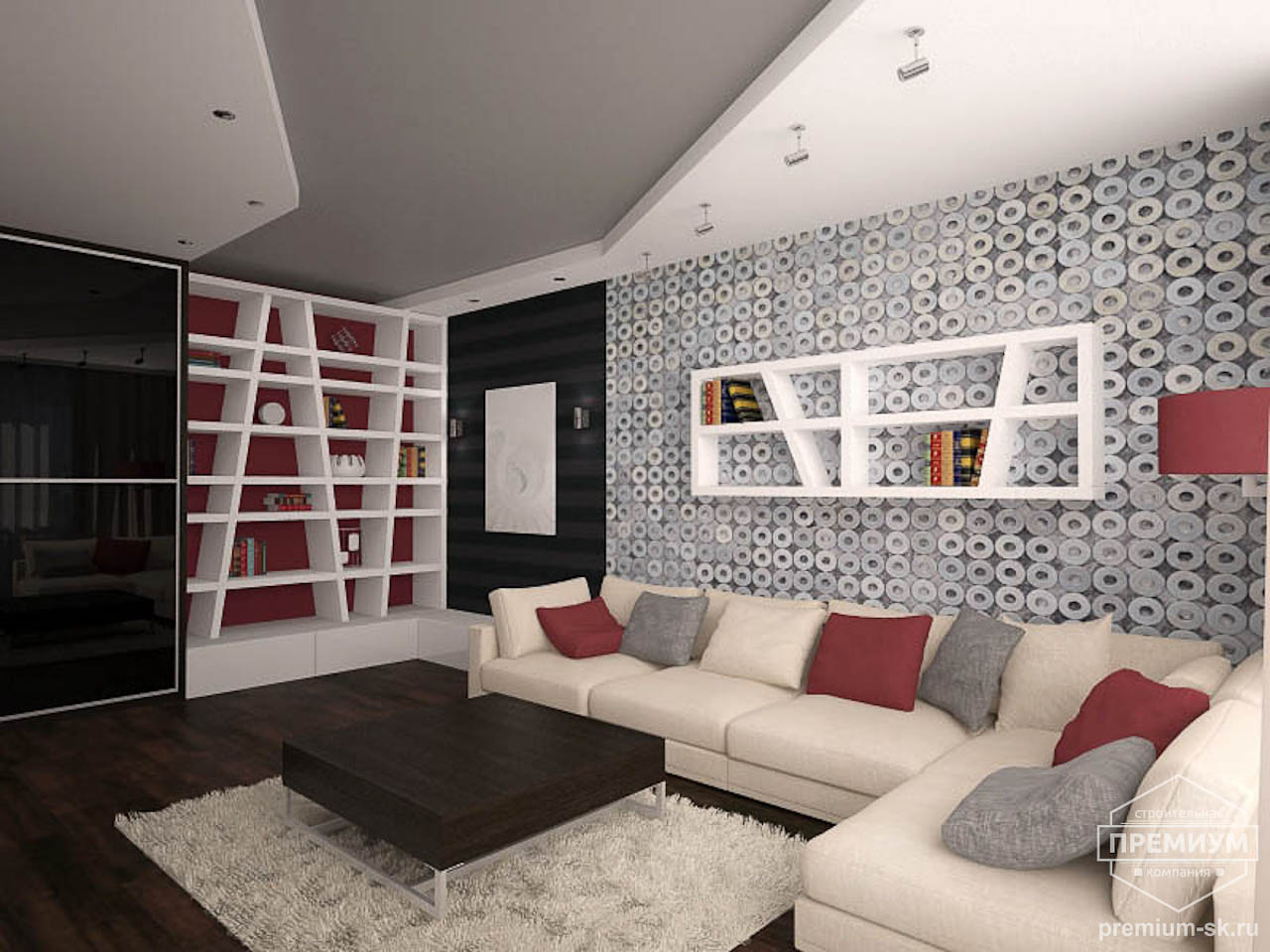 Дизайн интерьера однокомнатной квартиры по ул. Сыромолотова 11 img40905423
