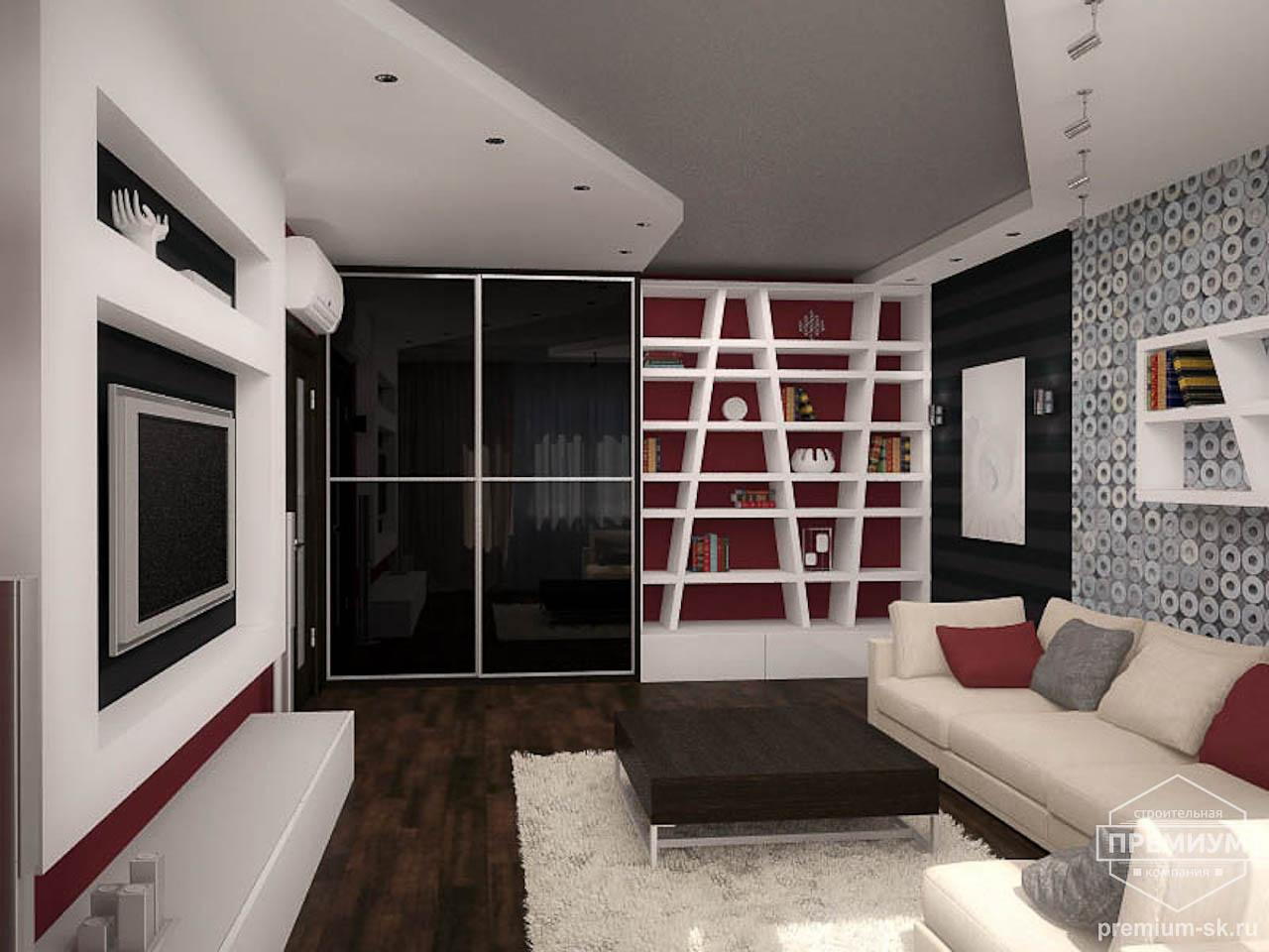 Дизайн интерьера однокомнатной квартиры по ул. Сыромолотова 11 img900215976
