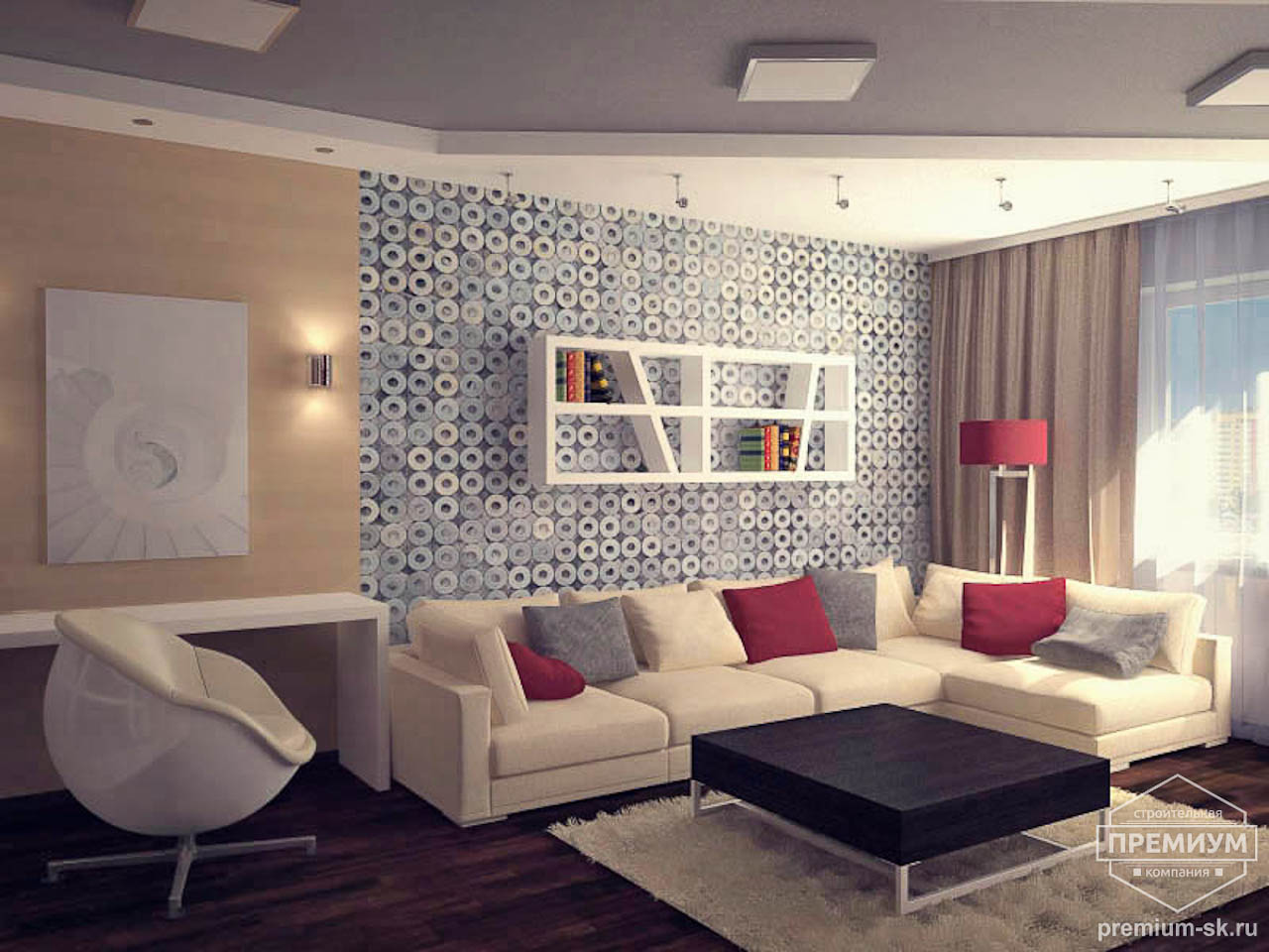 Дизайн интерьера однокомнатной квартиры по ул. Сыромолотова 11 img1846720107