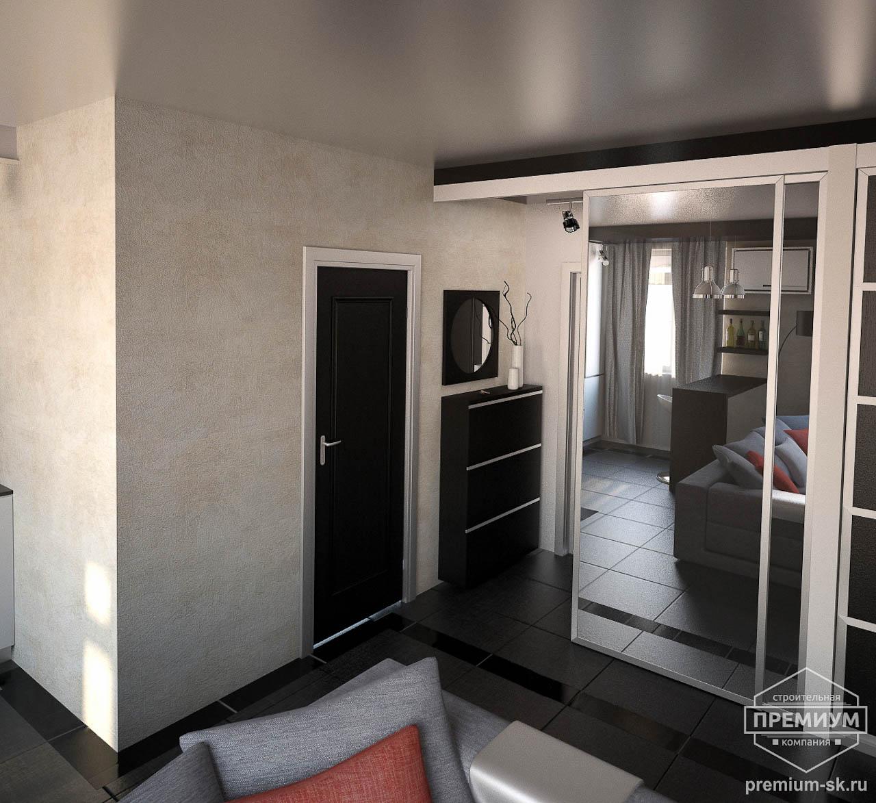 Дизайн интерьера однокомнатной квартиры по ул. Крауля 56 img2020956112