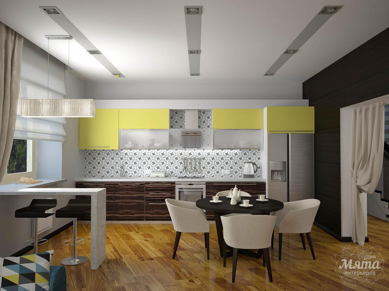 Дизайн проект интерьера коттеджа  в стиле минимализм по ул. Барвинка 15 img267446141