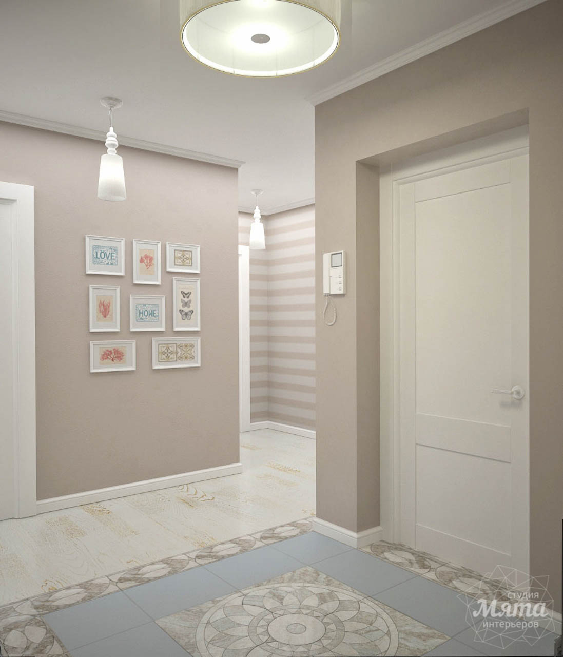 Дизайн интерьера и ремонт трехкомнатной квартиры по ул. Фучика 9 img468232860