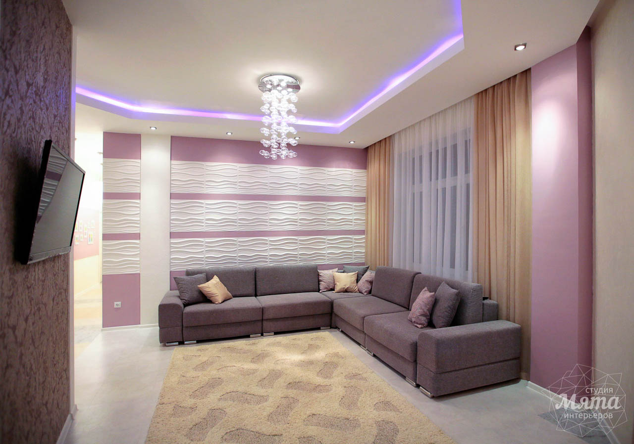 Дизайн интерьера и ремонт трехкомнатной квартиры по ул. Чкалова 124 15