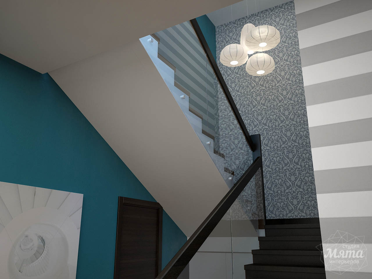 Дизайн проект интерьера коттеджа  в стиле минимализм по ул. Барвинка 15 img1888364359