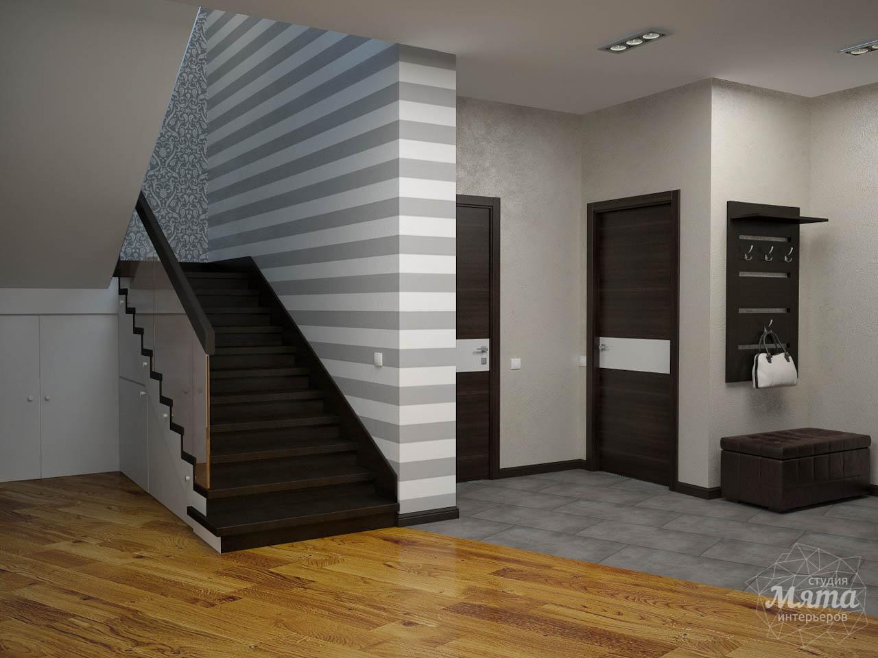 Дизайн проект интерьера коттеджа  в стиле минимализм по ул. Барвинка 15 img1227777746