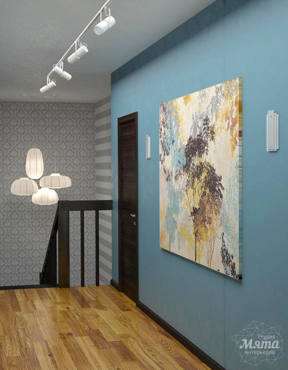Дизайн проект интерьера коттеджа  в стиле минимализм по ул. Барвинка 15 img1256363078