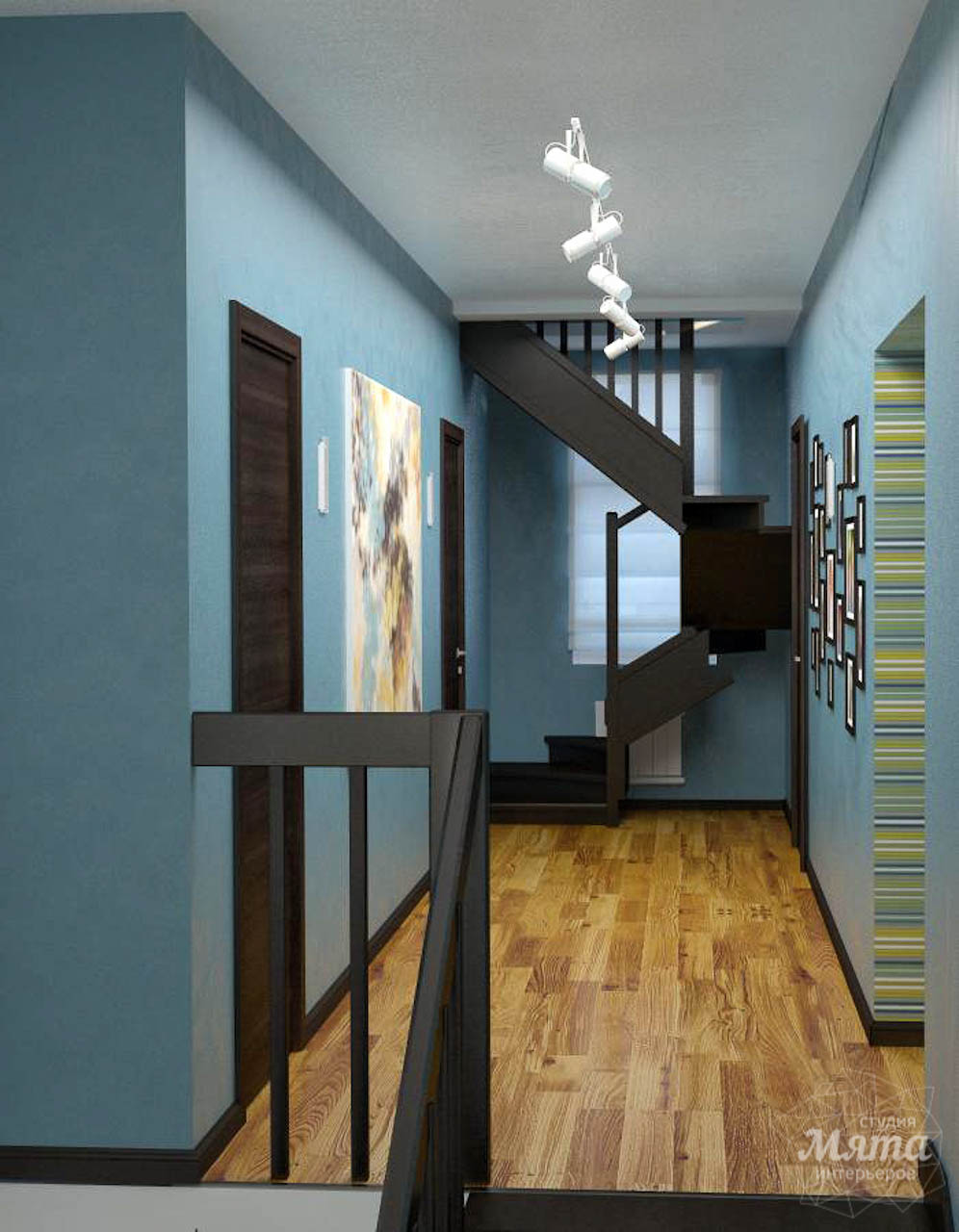 Дизайн проект интерьера коттеджа  в стиле минимализм по ул. Барвинка 15 img2134639977