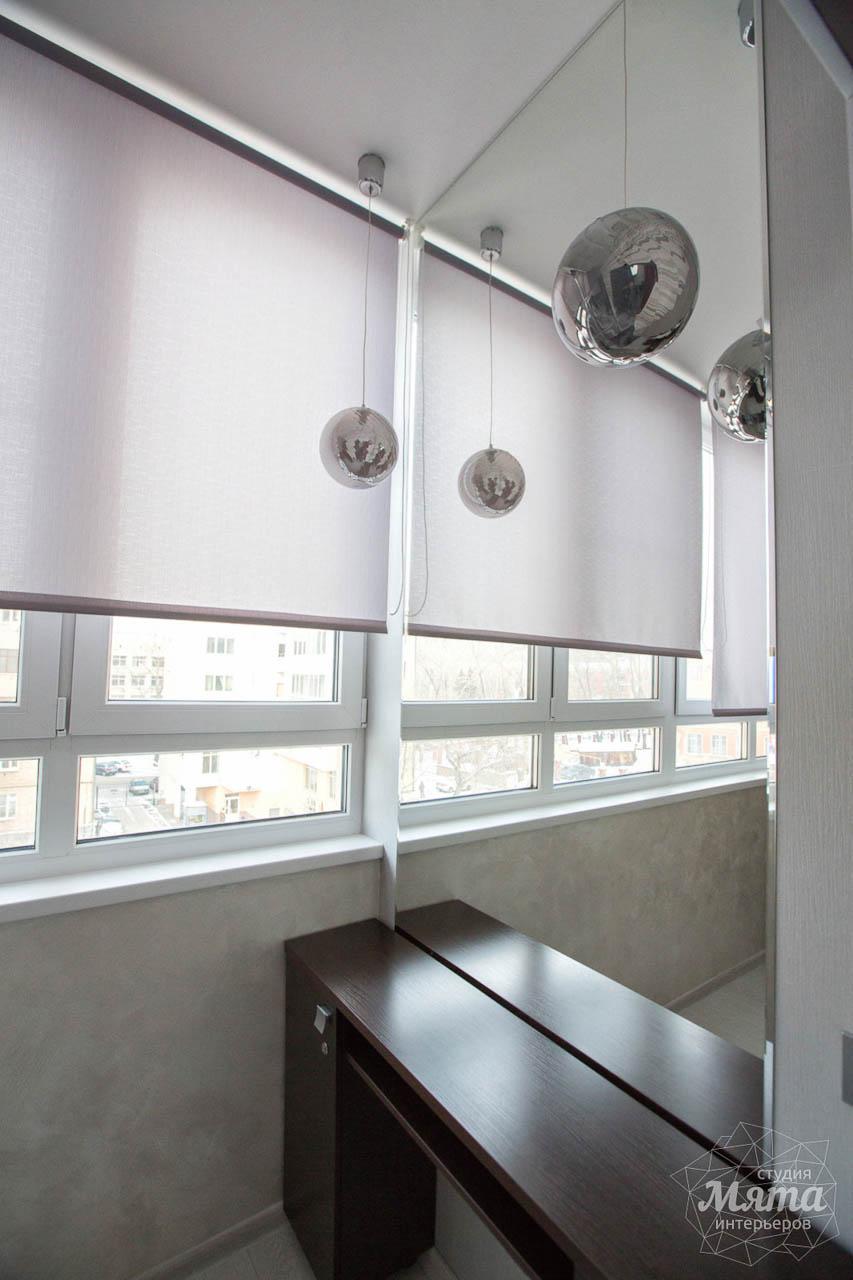 Дизайн интерьера и ремонт трехкомнатной квартиры по ул. Попова 33а 28
