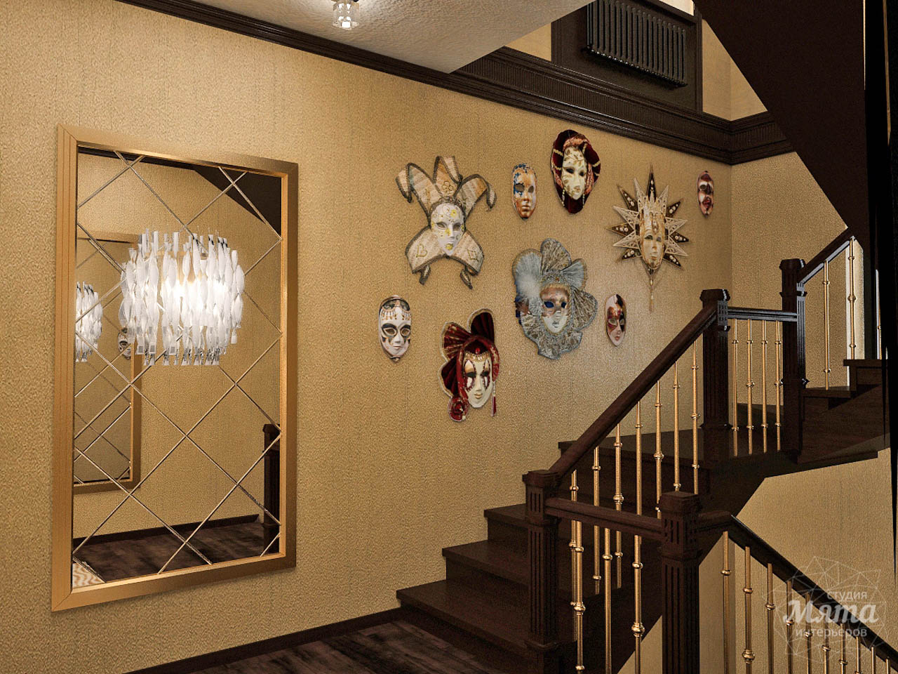 Дизайн интерьера коттеджа по ул. Ландышевая 23 img461368779