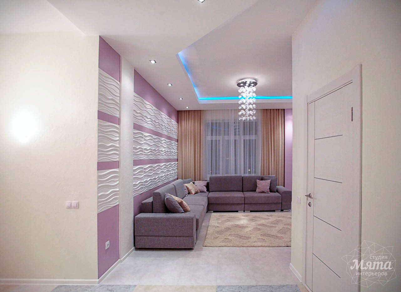 Дизайн интерьера и ремонт трехкомнатной квартиры по ул. Чкалова 124 4