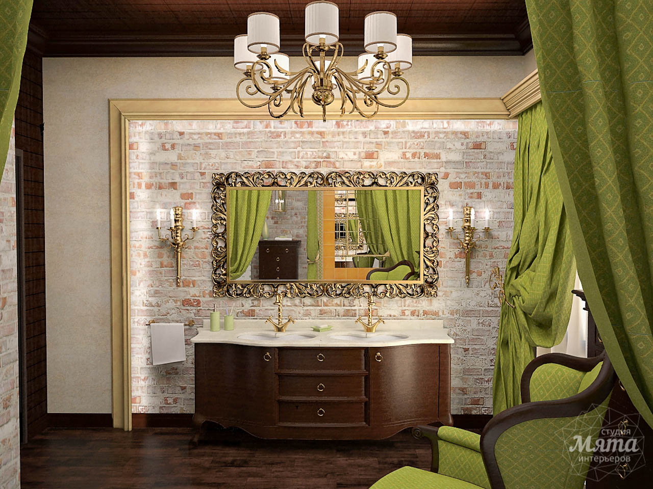 Дизайн интерьера коттеджа по ул. Ландышевая 23 img1575991452
