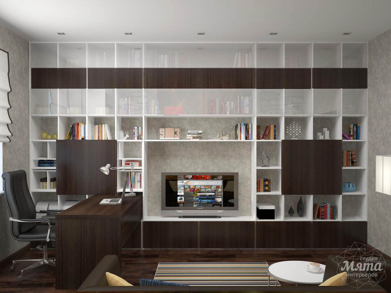 Дизайн проект интерьера коттеджа  в стиле минимализм по ул. Барвинка 15 img1914249341