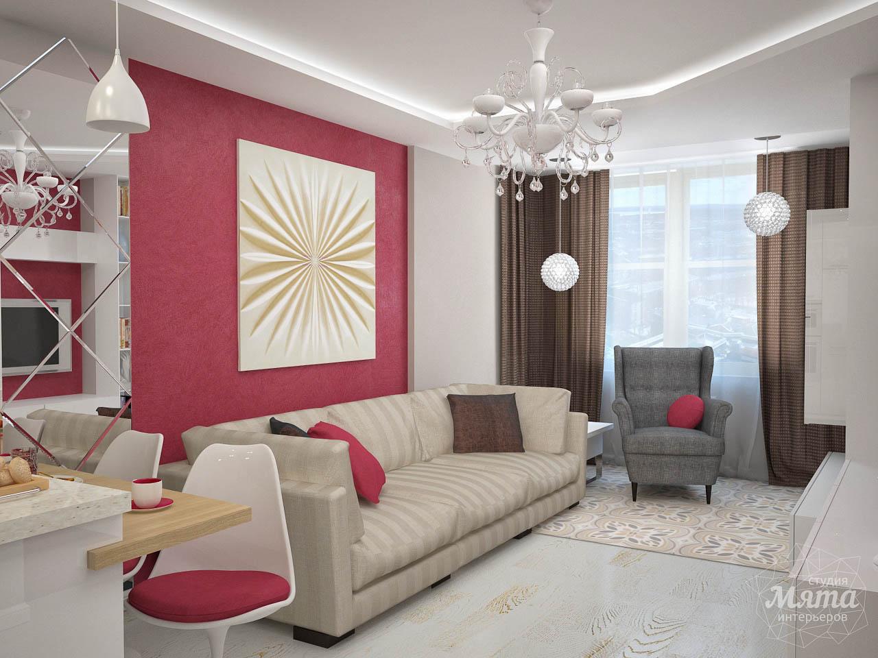 Дизайн интерьера и ремонт трехкомнатной квартиры по ул. Фучика 9 img995321719
