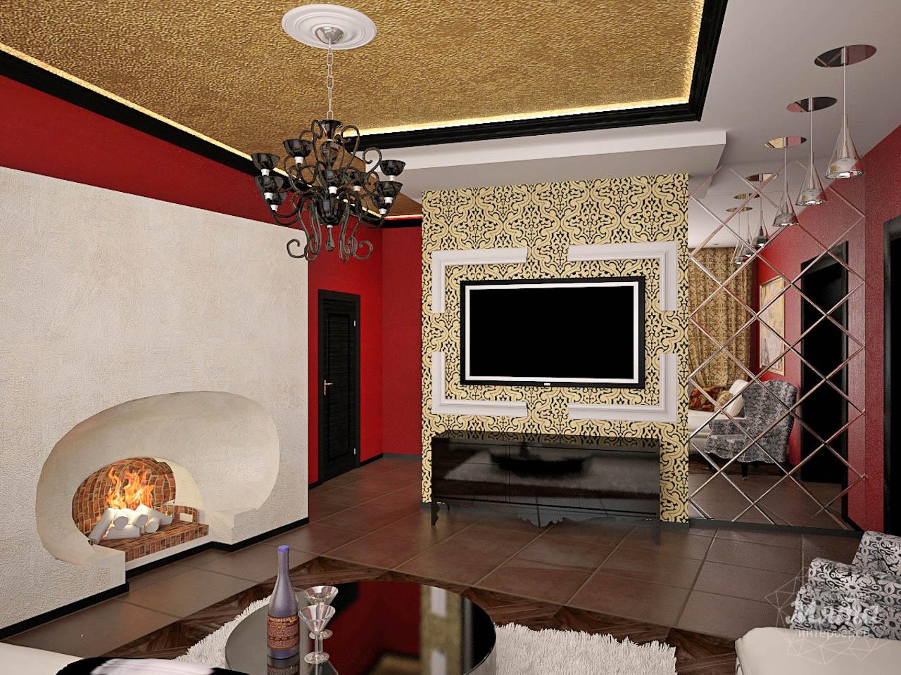 Дизайн интерьера коттеджа первого этажа по ул. Урожайная 17 img140104877