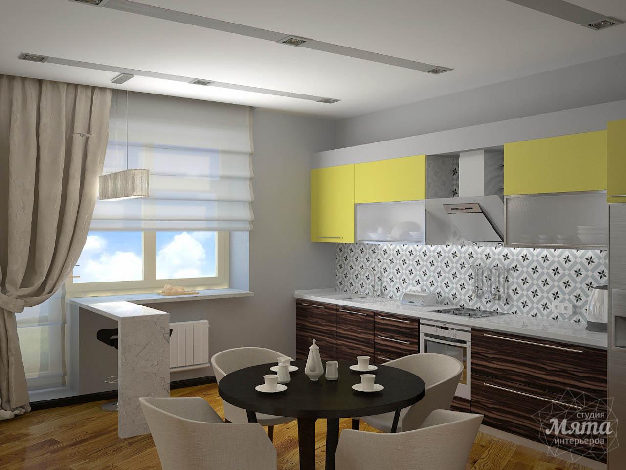 Дизайн проект интерьера коттеджа  в стиле минимализм по ул. Барвинка 15 img198765559