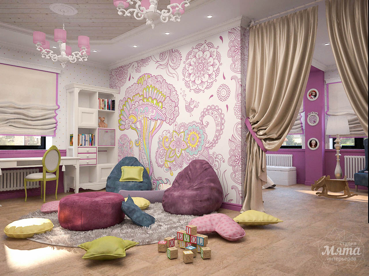 Дизайн интерьера коттеджа по ул. Ландышевая 23 img1423938242