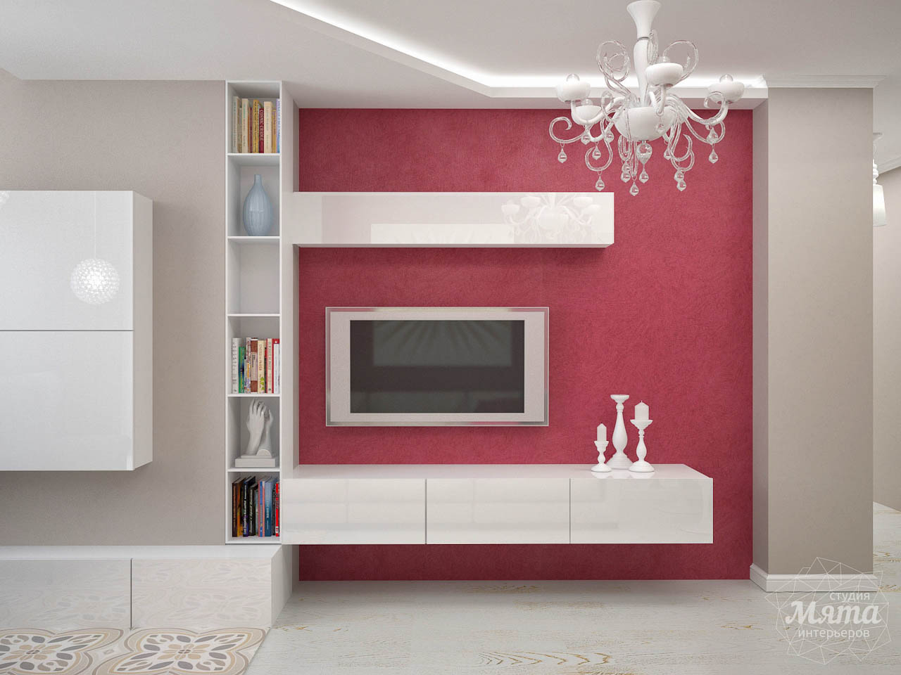 Дизайн интерьера и ремонт трехкомнатной квартиры по ул. Фучика 9 img1116141861