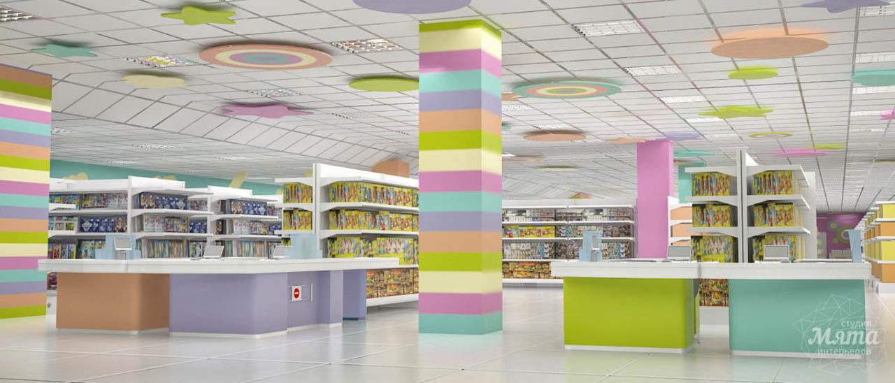 Дизайн интерьера и ремонт детского гипермаркета по ул. Щербакова 4 img1808950474