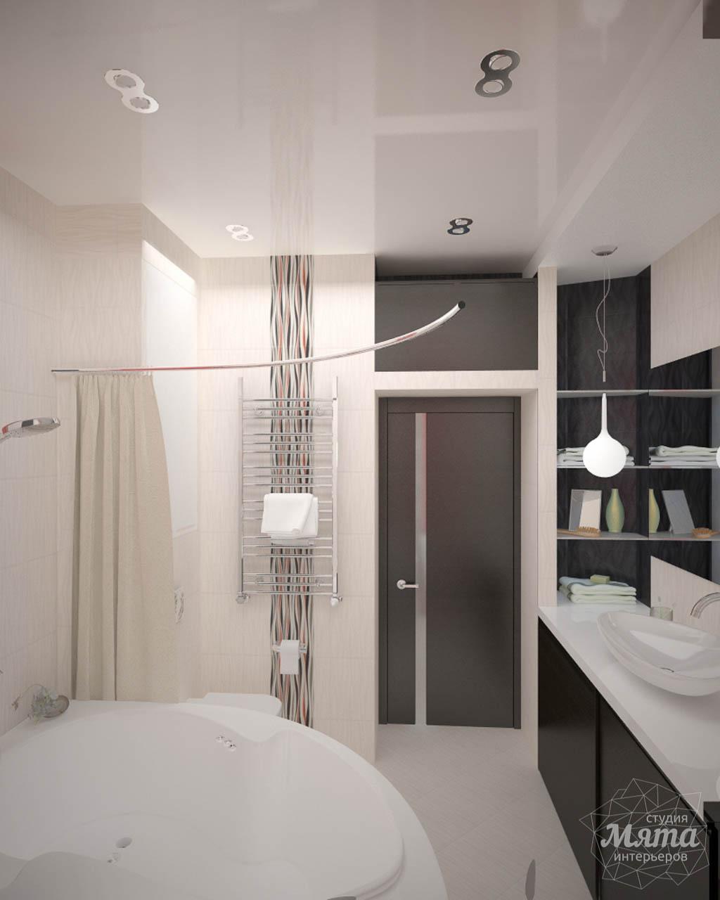 Дизайн интерьера и ремонт трехкомнатной квартиры по ул. Попова 33а 7