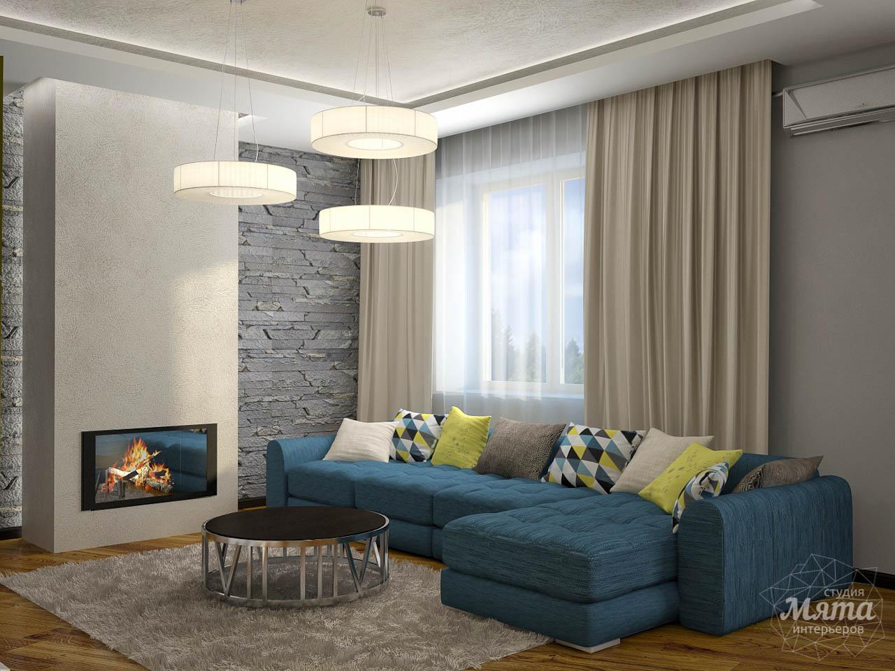 Дизайн проект интерьера коттеджа  в стиле минимализм по ул. Барвинка 15 img1325168599