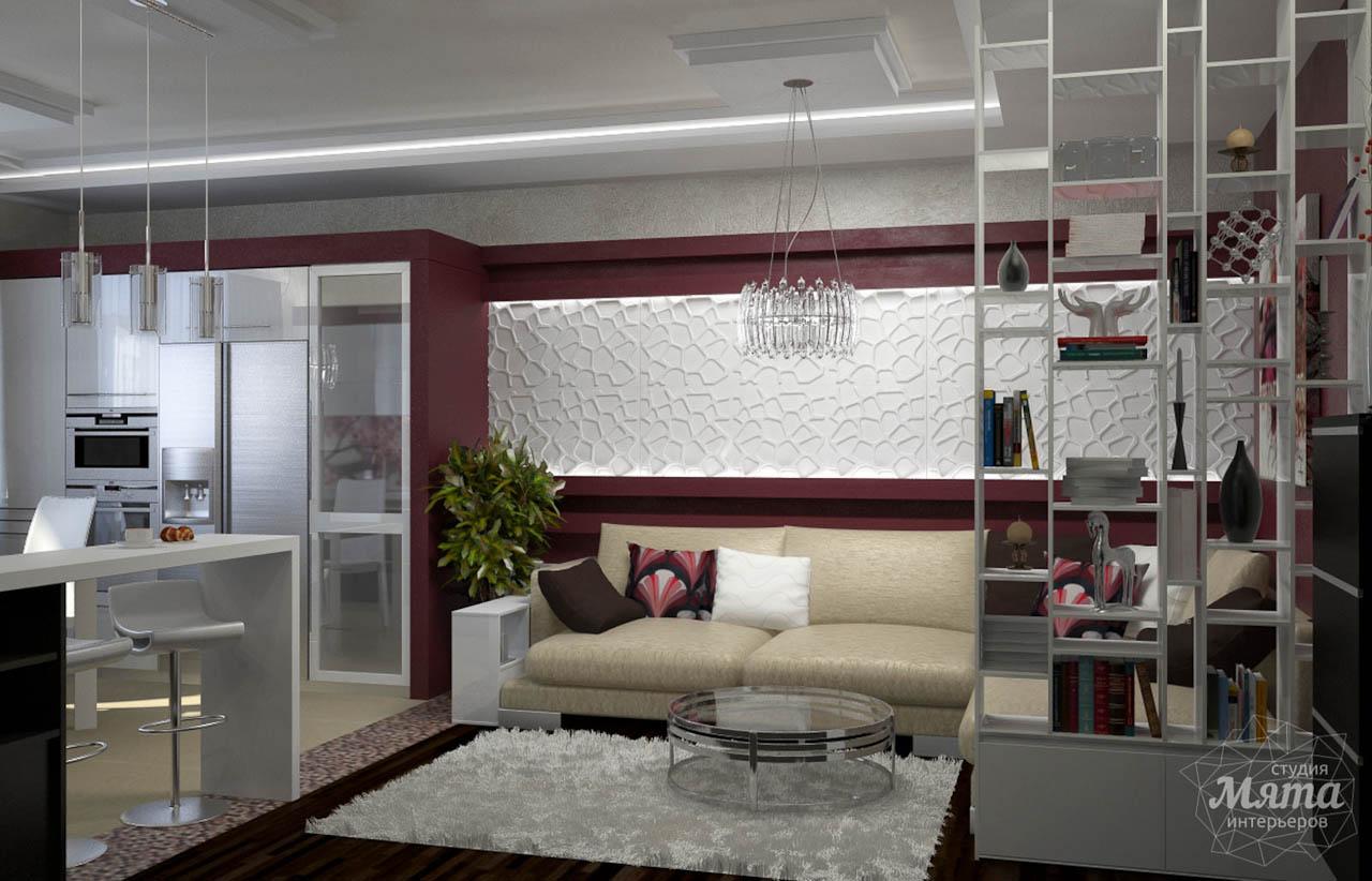 Дизайн интерьера и ремонт трехкомнатной квартиры по ул. Попова 33а img1644046388