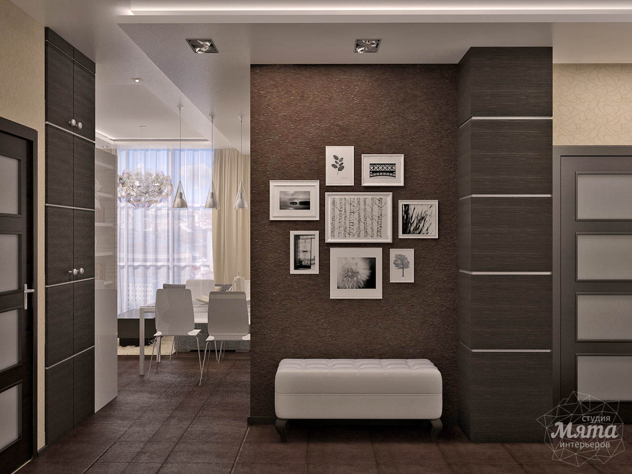 Дизайн интерьера трехкомнатной квартиры по ул. Папанина 18 img195610559