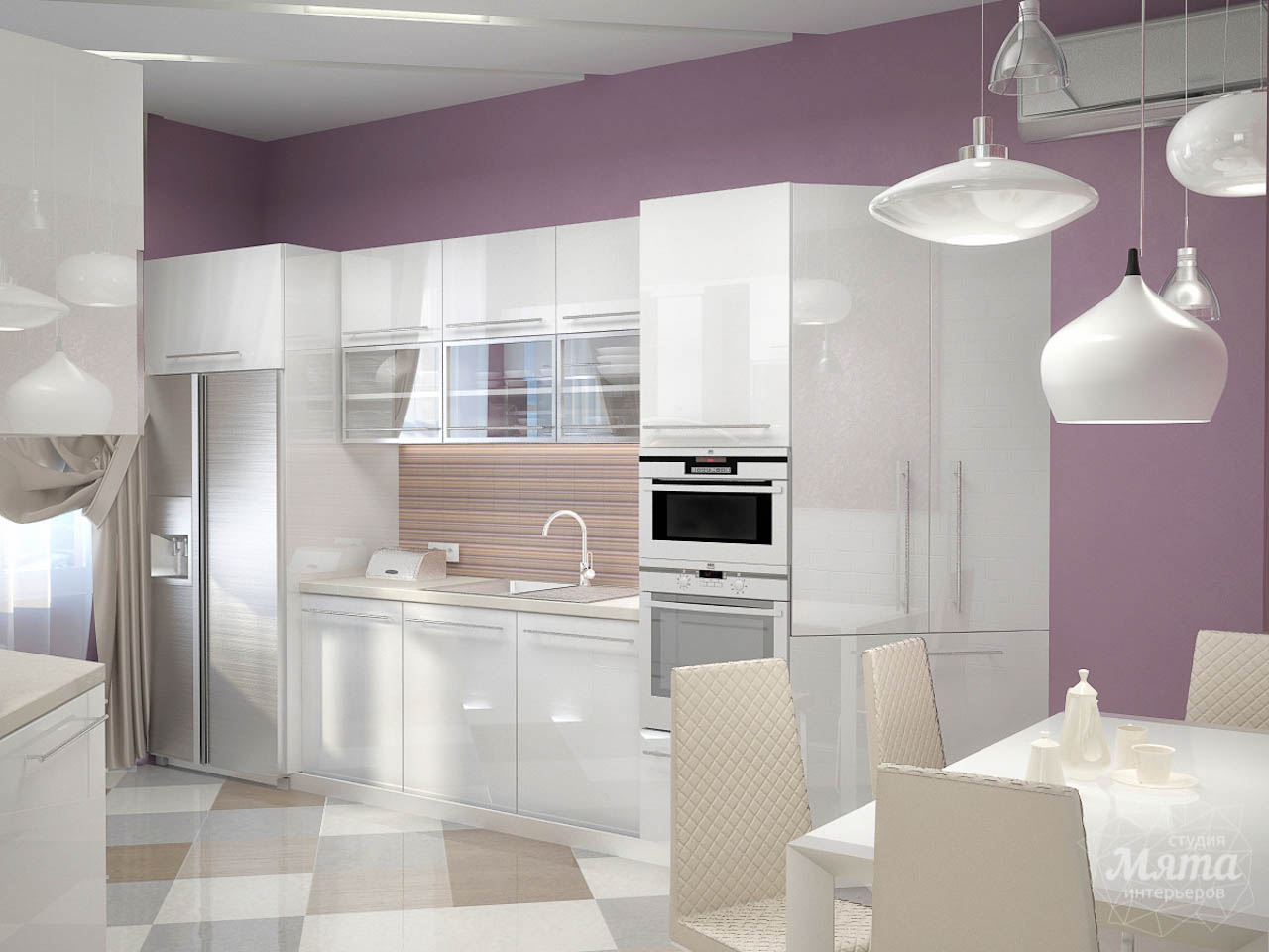 Дизайн интерьера и ремонт трехкомнатной квартиры по ул. Чкалова 124 img1777728172