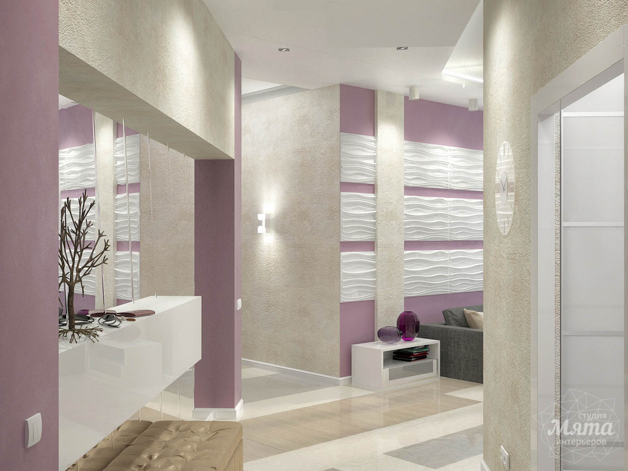 Дизайн интерьера и ремонт трехкомнатной квартиры по ул. Чкалова 124 img731277963