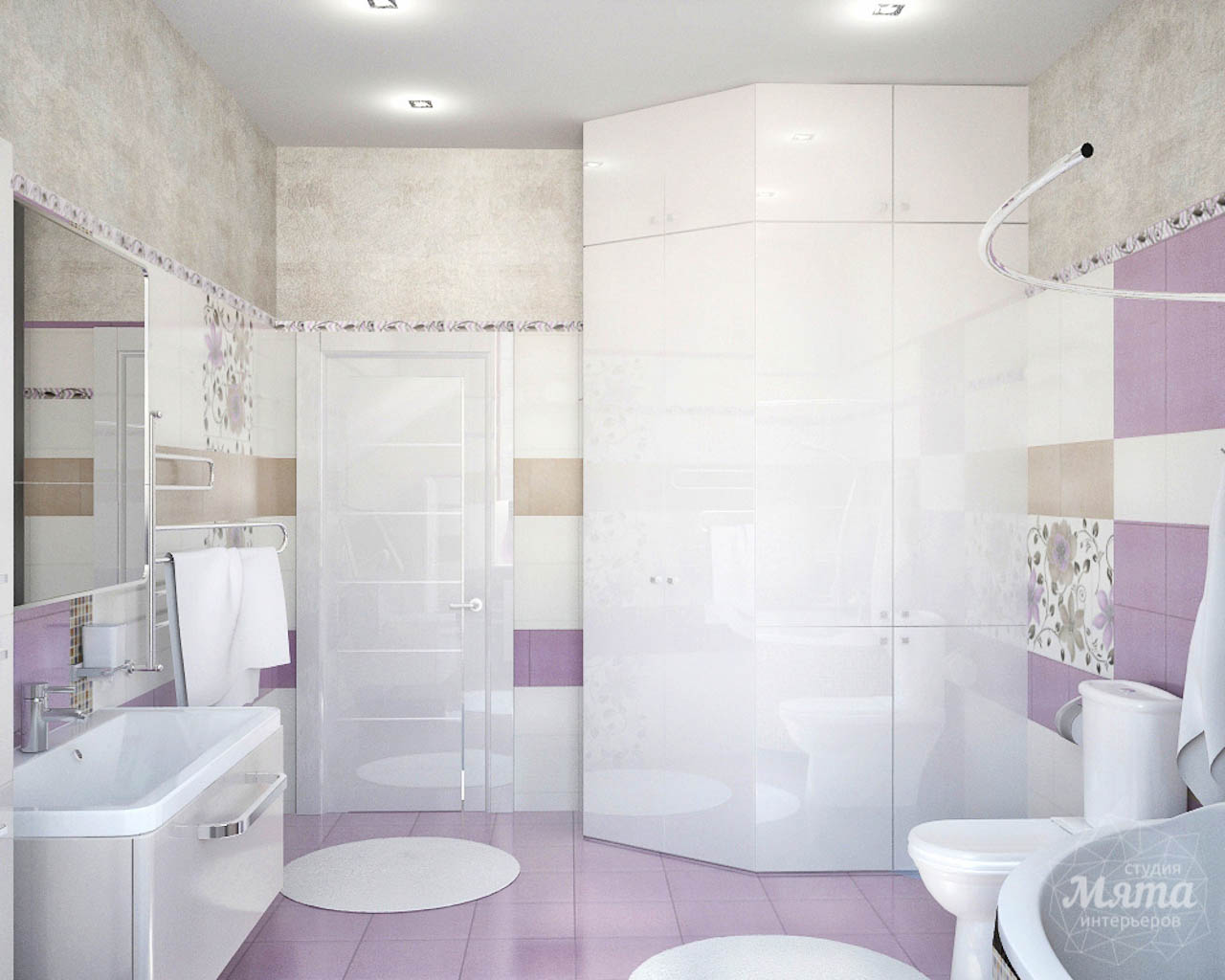 Дизайн интерьера и ремонт трехкомнатной квартиры по ул. Чкалова 124 img11090980