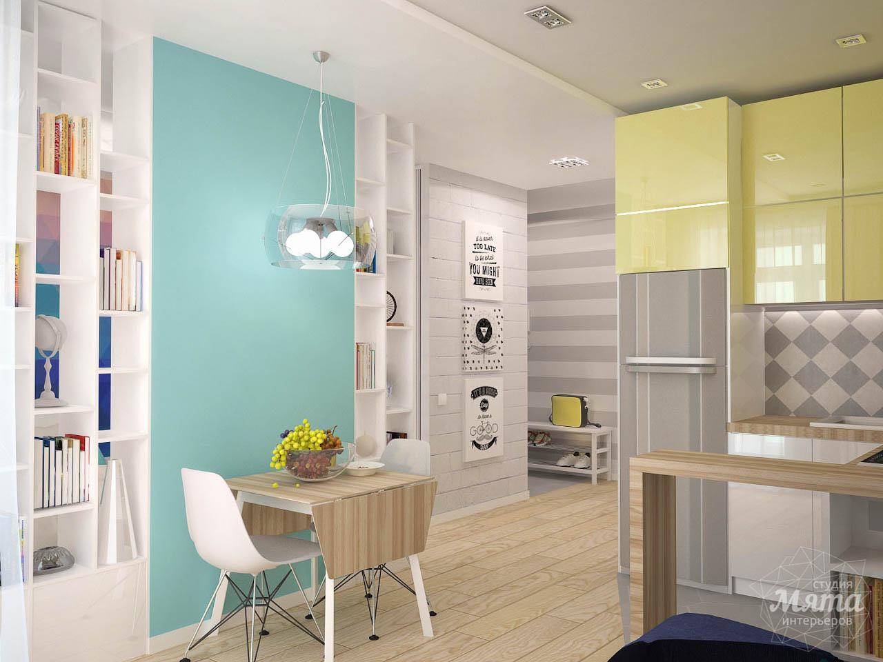 Дизайн интерьера и ремонт однокомнатной квартиры по ул. Сурикова 53а img296215989