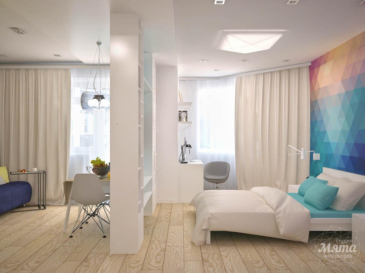 Дизайн интерьера и ремонт однокомнатной квартиры по ул. Сурикова 53а img1746403907