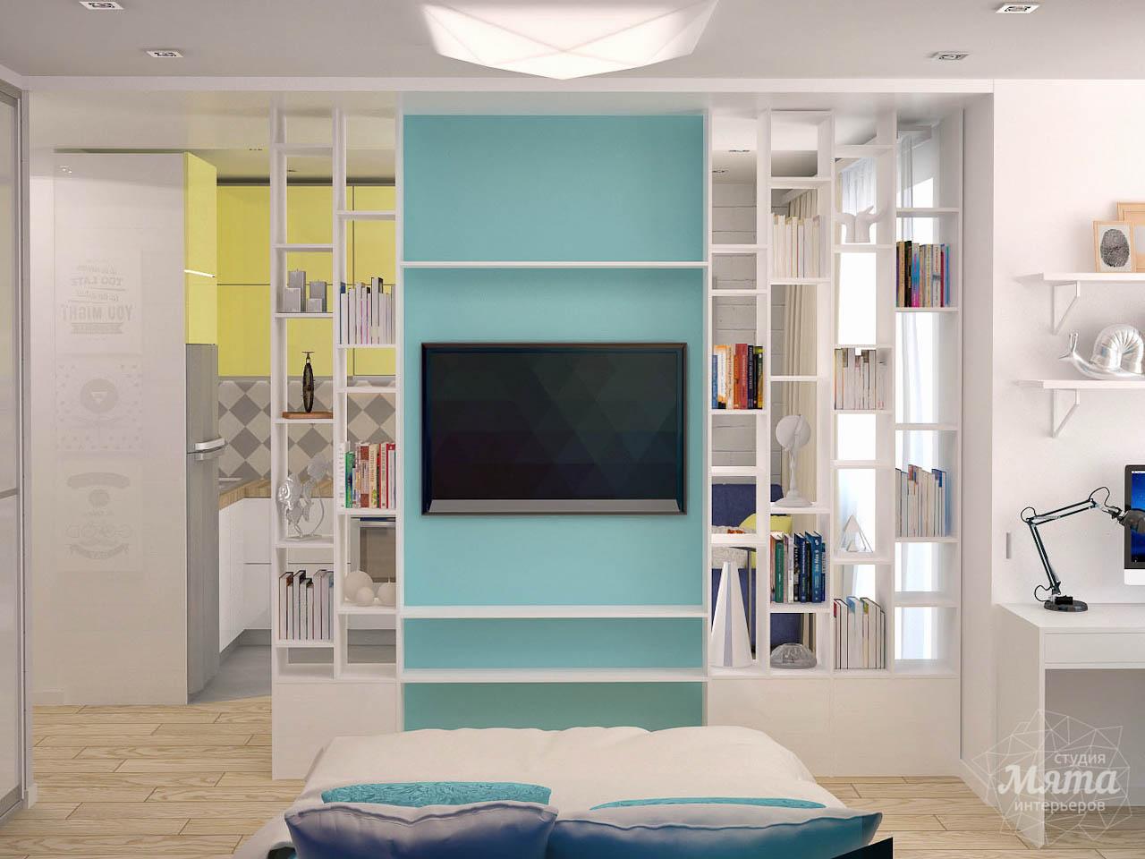 Дизайн интерьера и ремонт однокомнатной квартиры по ул. Сурикова 53а img1564140497