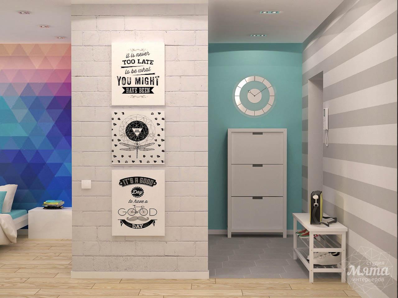 Дизайн интерьера и ремонт однокомнатной квартиры по ул. Сурикова 53а img1141422365
