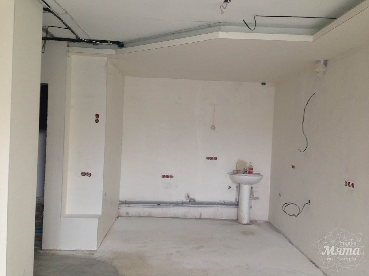 Дизайн интерьера и ремонт трехкомнатной квартиры по ул. Фучика 9 24