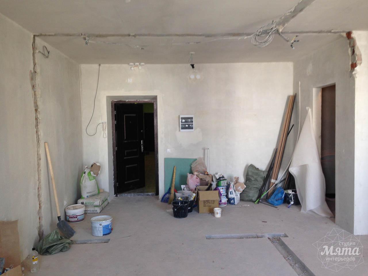 Дизайн интерьера и ремонт однокомнатной квартиры по ул. Сурикова 53а 29