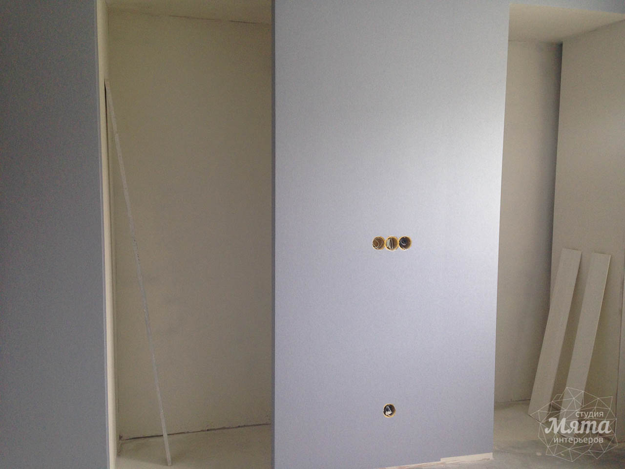 Дизайн интерьера и ремонт трехкомнатной квартиры по ул. Фучика 9 27