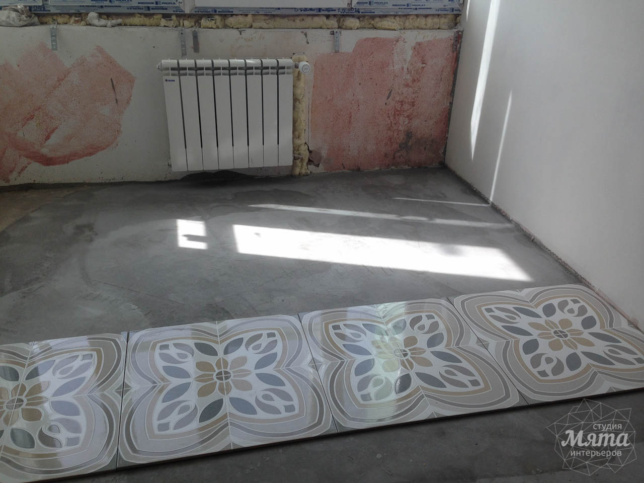 Дизайн интерьера и ремонт трехкомнатной квартиры по ул. Фучика 9 37