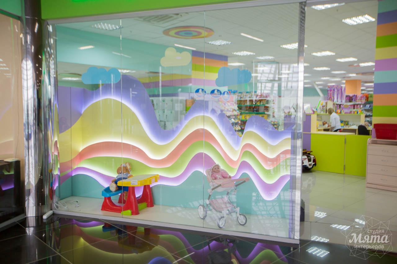 Дизайн интерьера и ремонт детского гипермаркета по ул. Щербакова 4 3