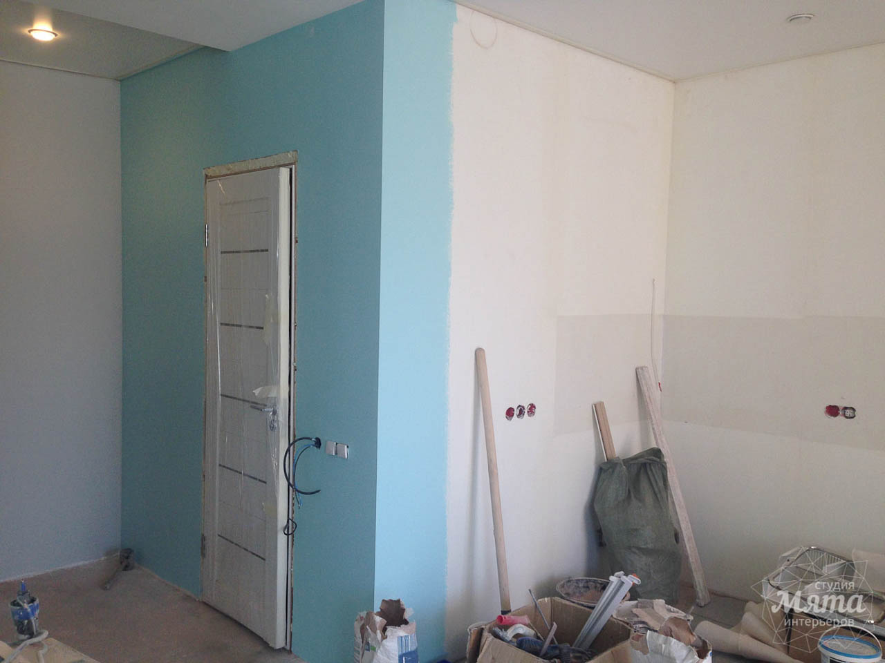 Дизайн интерьера и ремонт однокомнатной квартиры по ул. Сурикова 53а 45