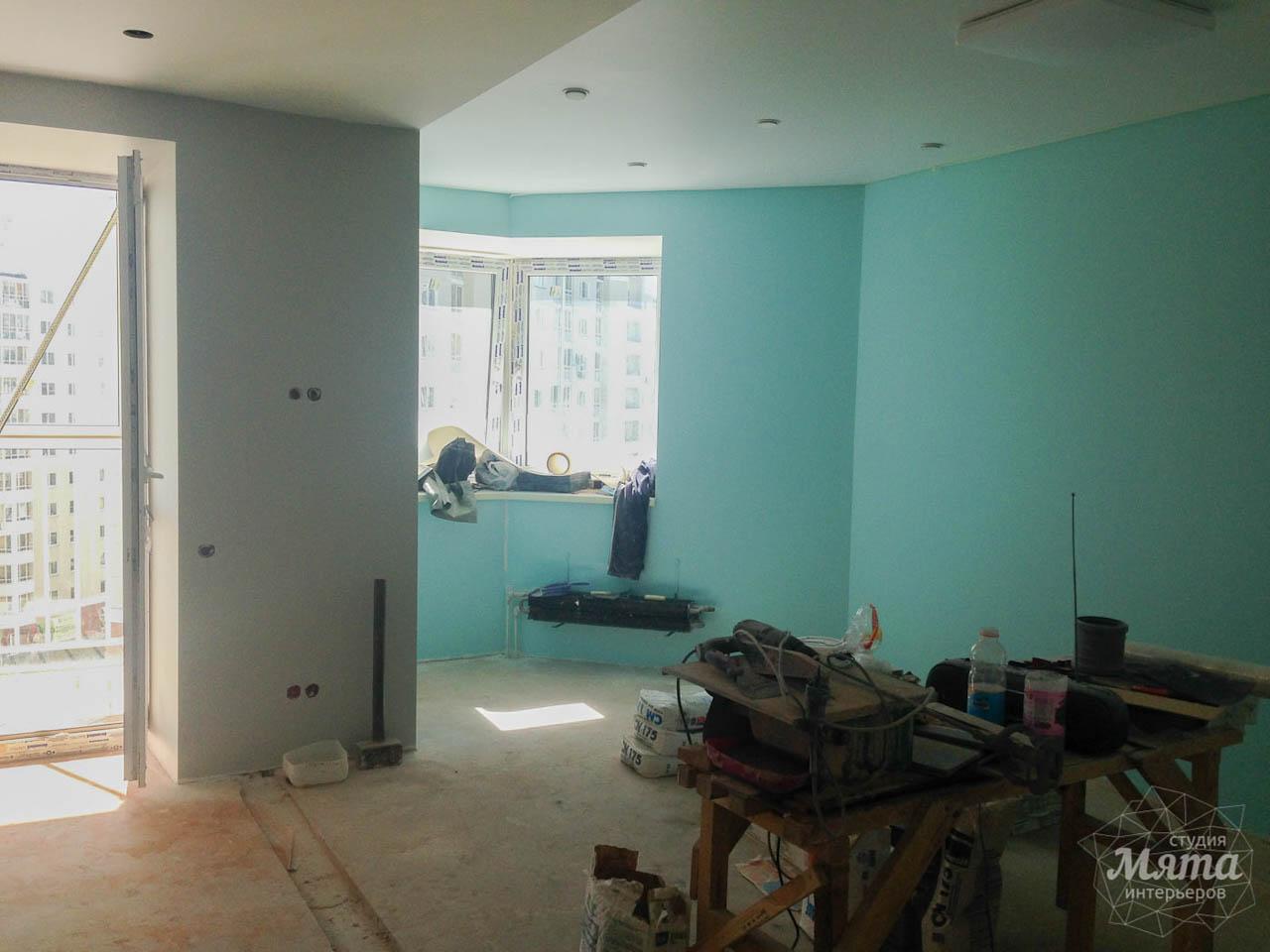 Дизайн интерьера и ремонт однокомнатной квартиры по ул. Сурикова 53а 50
