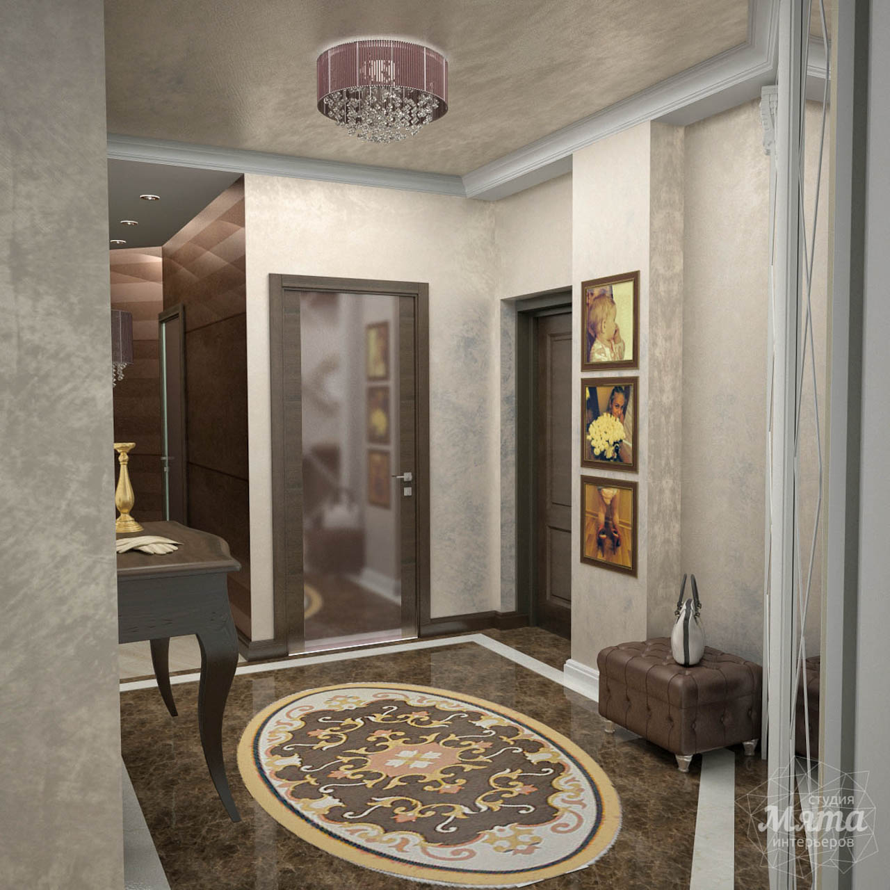 Дизайн интерьера и ремонт трехкомнатной квартиры по ул. 8 Марта 190 img46196577