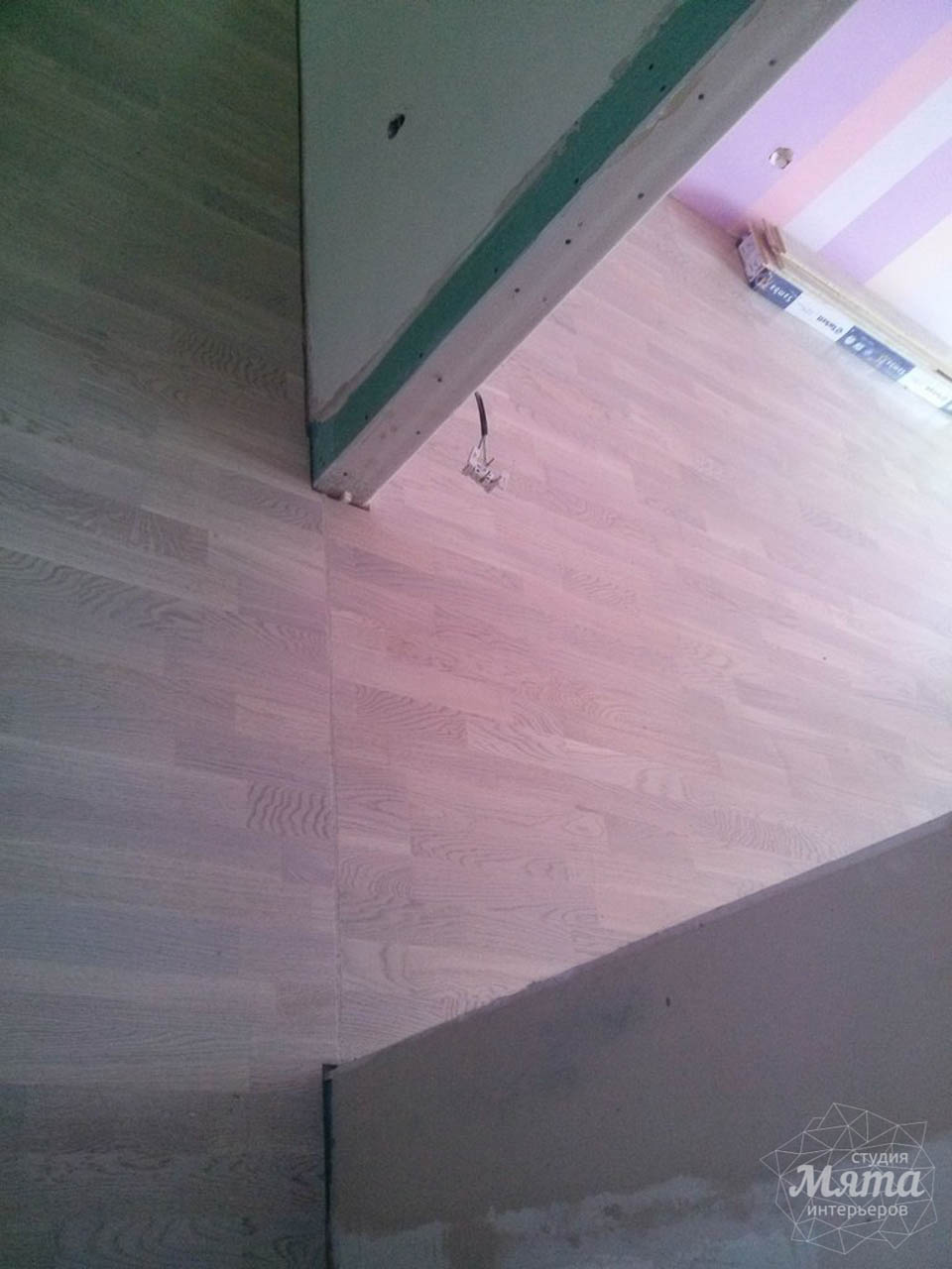 Дизайн интерьера и ремонт трехкомнатной квартиры по ул. Фучика 9 66
