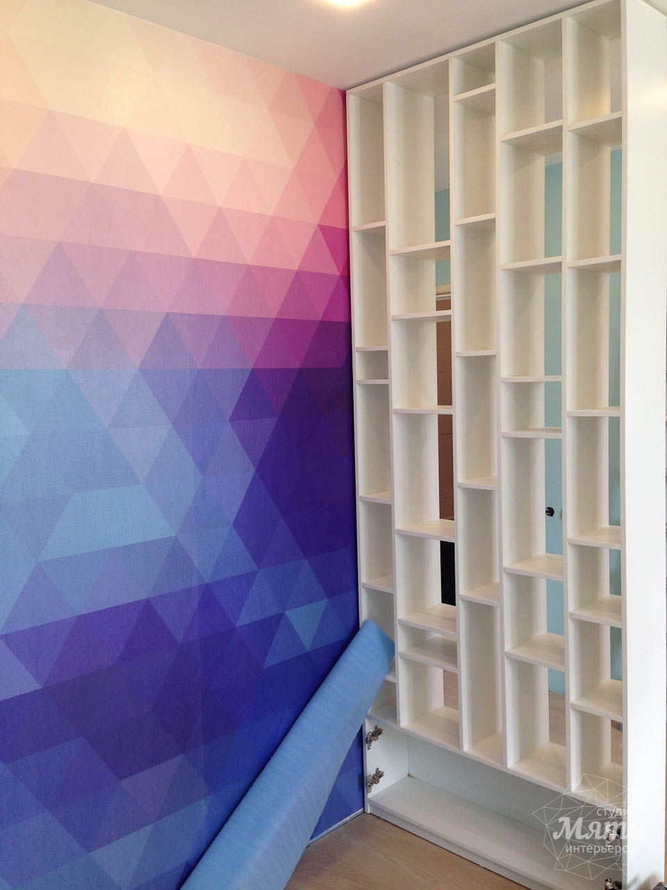 Дизайн интерьера и ремонт однокомнатной квартиры по ул. Сурикова 53а 67