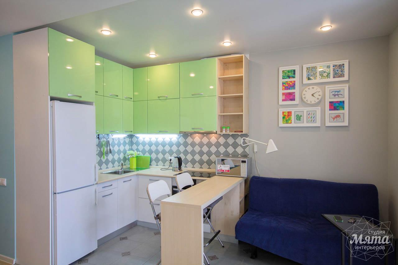 Дизайн интерьера и ремонт однокомнатной квартиры по ул. Сурикова 53а 2