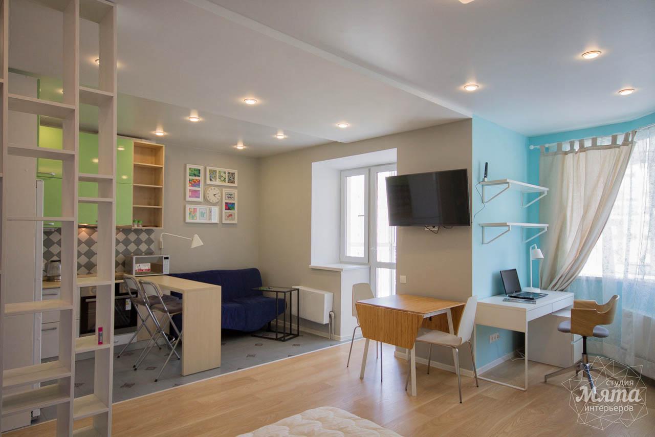 Дизайн интерьера и ремонт однокомнатной квартиры по ул. Сурикова 53а 5