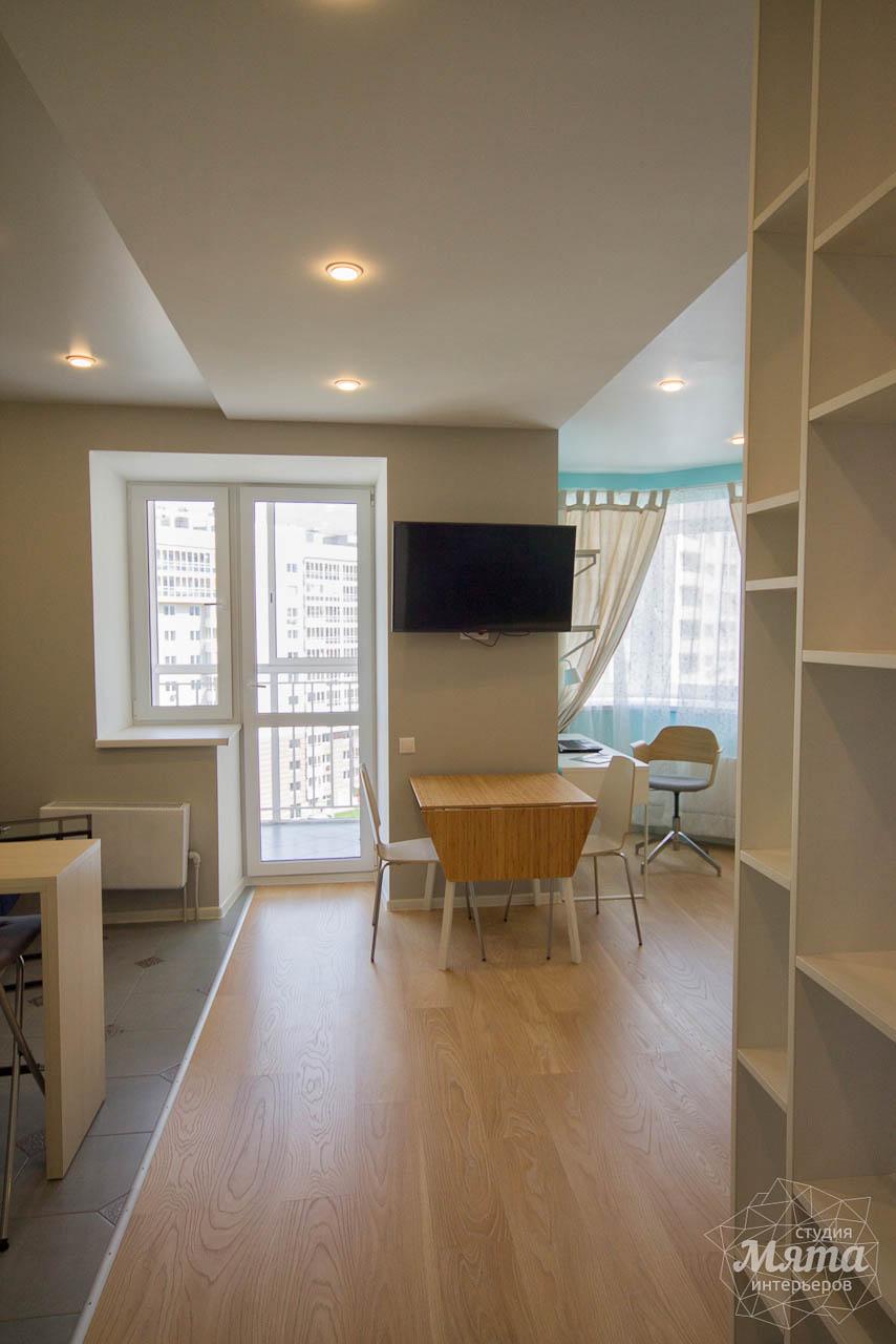 Дизайн интерьера и ремонт однокомнатной квартиры по ул. Сурикова 53а 12
