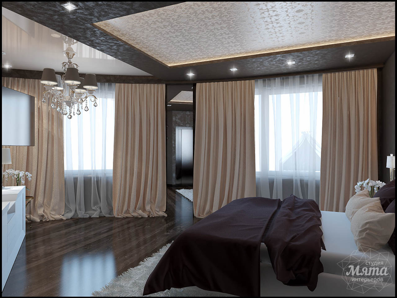 Дизайн интерьера и ремонт трехкомнатной квартиры по ул. 8 Марта 190 img129337011