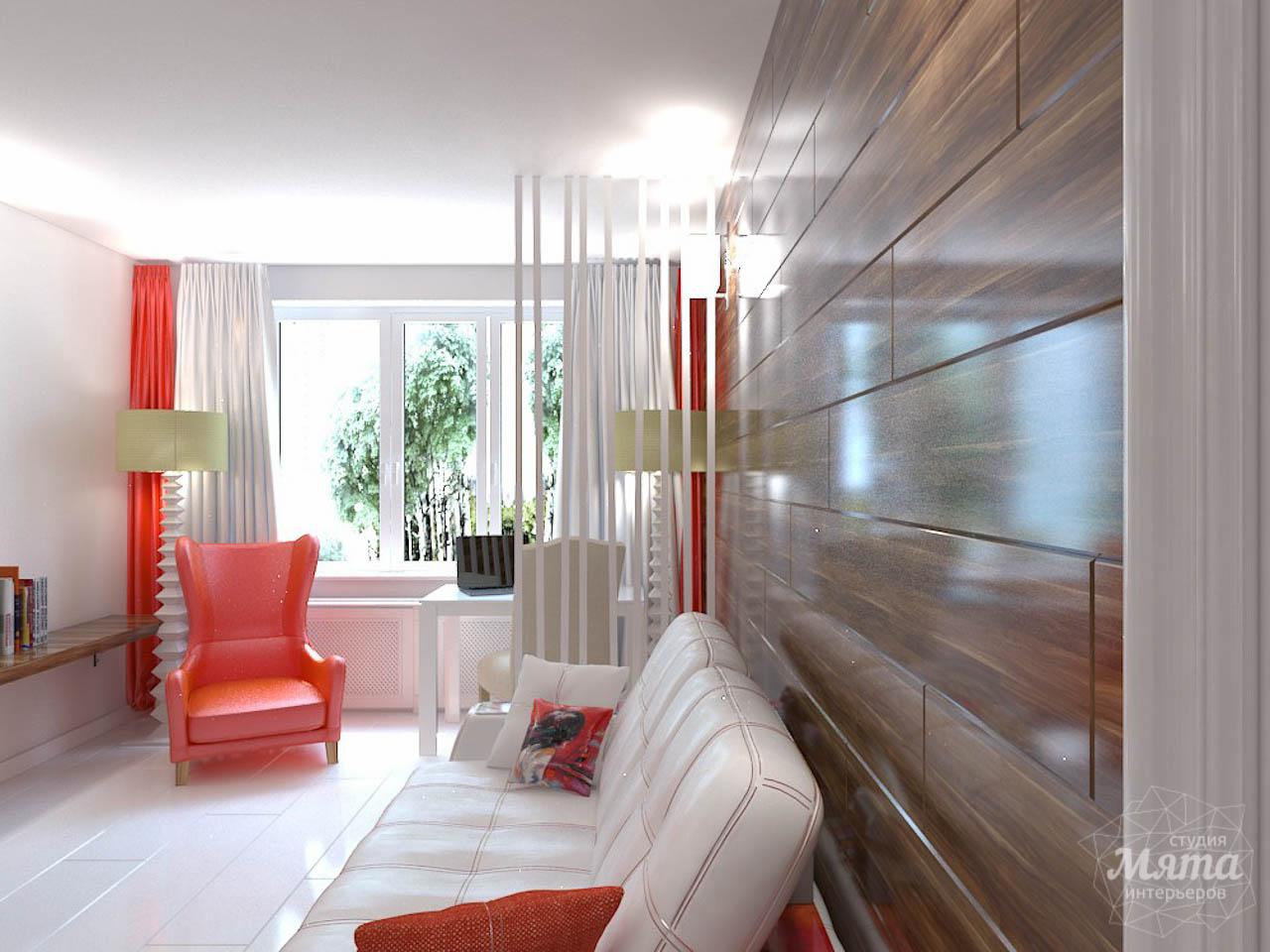 Дизайн интерьера однокомнатной квартиры в стиле минимализм по ул. Чапаева 30 img1315791825