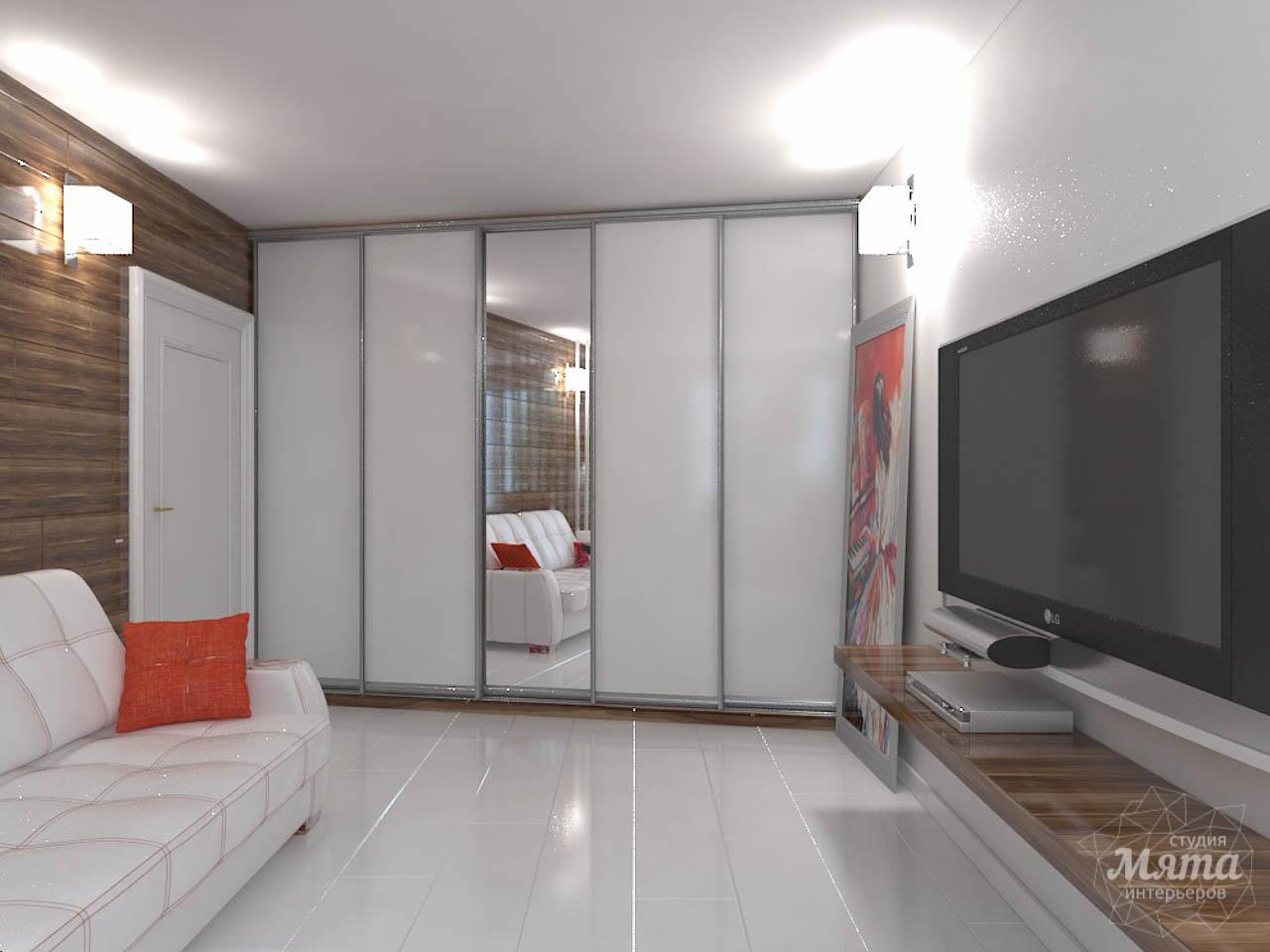 Дизайн интерьера однокомнатной квартиры в стиле минимализм по ул. Чапаева 30 img1773126341