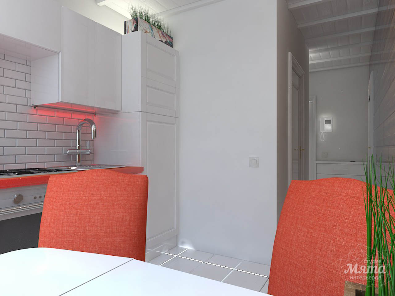 Дизайн интерьера однокомнатной квартиры в стиле минимализм по ул. Чапаева 30 img1081071671